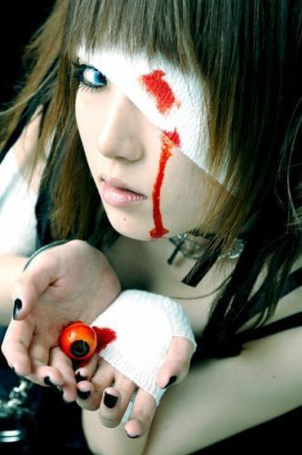 """le look """"Horror Girl"""" venant du Japon"""