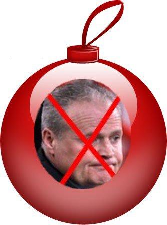 Avec Dédé, pour la Noël on n'a que les boules...