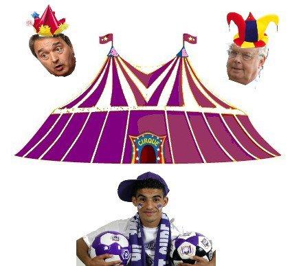 Le grand cirque anderlechtois!