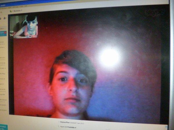 Skype avec elle !