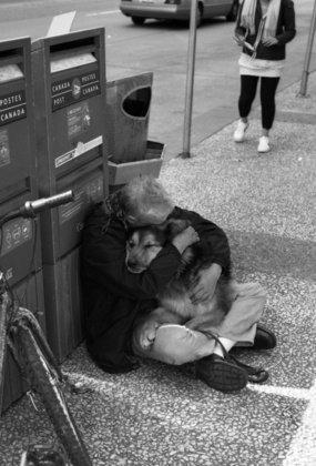 Photo touchante