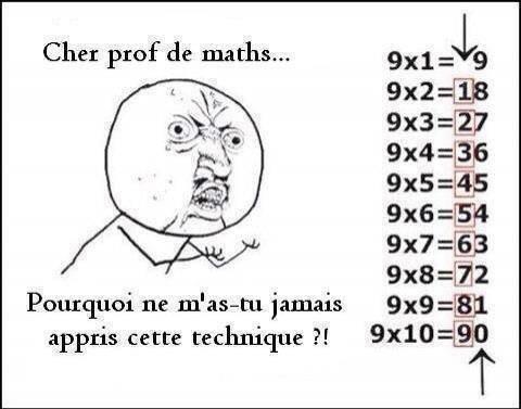 Pour tout ceux qui sont nul en math comme moi :)