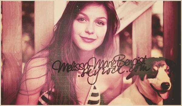 ₪ Découvre la belle Melissa Benoist sur MelissaMarieBenoist.SKY
