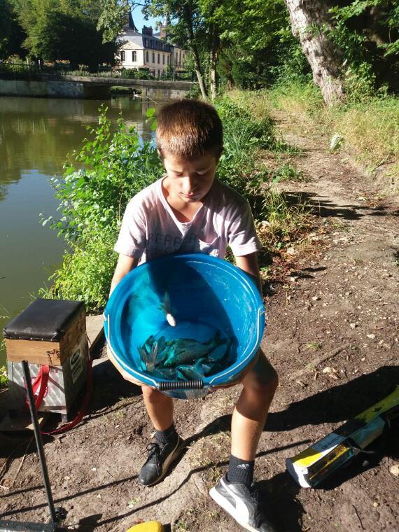 Une partie  de pêche  avec Axel