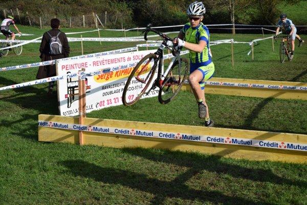 CYCLOCROSS de LA LACELLE, 2ème manche du challenge Y LIBOR, 8/11/2015