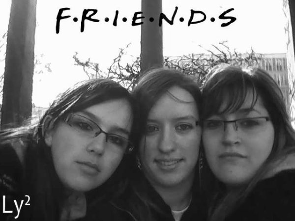Sarah, Laëtitia & Moi