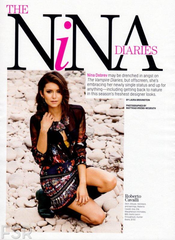 Vidéo du Photoshoot de Nina Dobrev pour Cosmopolitan + Les Clichés !