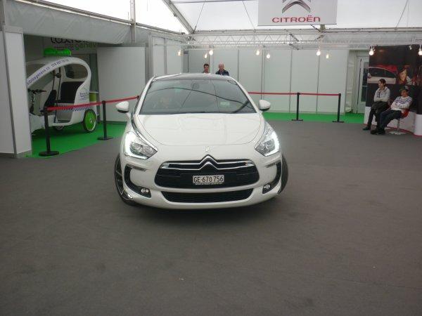 Genève 2012 - DS5 Hybrid4 à l'essai