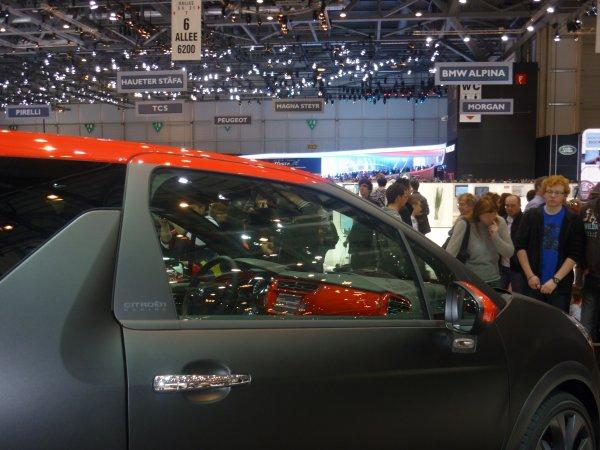 Genève 2012 - Citroen DS3 R S.Loeb Edition