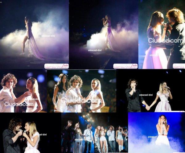 """le 21 décembre 2014 - Tini au """"Eco Fashion Show """""""