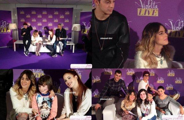 Violetta Live - Shows à Lisbonne