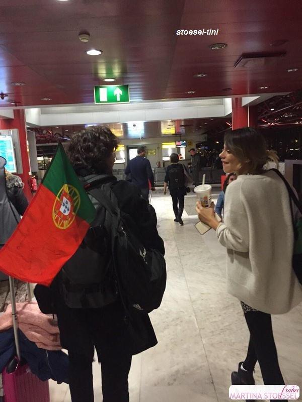 Tini à l'aéroport de Turin