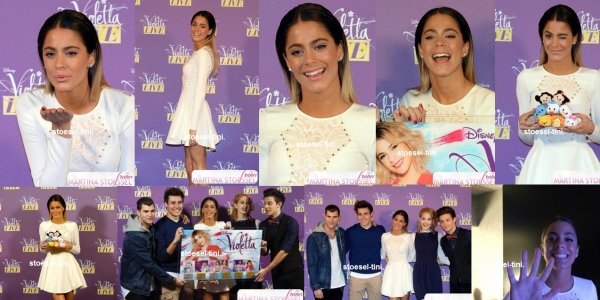 le 29 janvier 2015 - Tini à Radio Italia