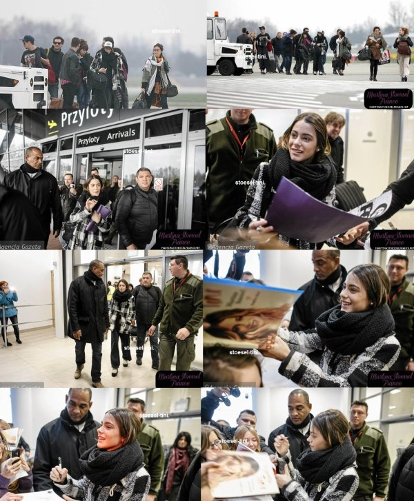 Tini à l'aéroport de Lodz (28/03)