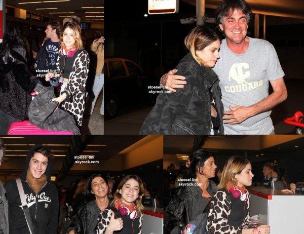 Tini à l'aéroport de Buenos Aires - 29 août 2014