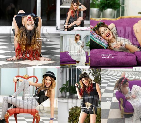 """voici un Photoshoot pour la revue """"Caras"""" - Août en 2013"""