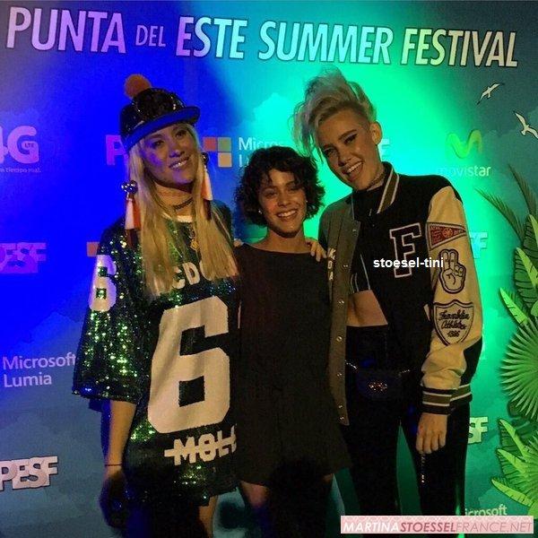 martina au Punta del Este Summer Festival (02/01)