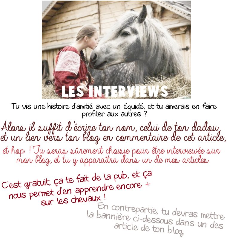 ......................................................................Les interviews................................................................