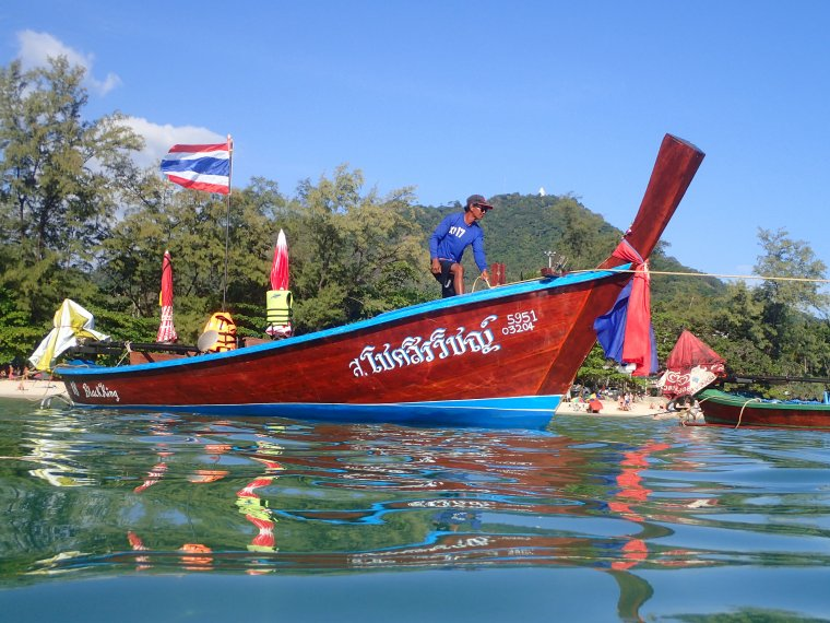 Apnée et palmage à Kata beach et Karon Beach