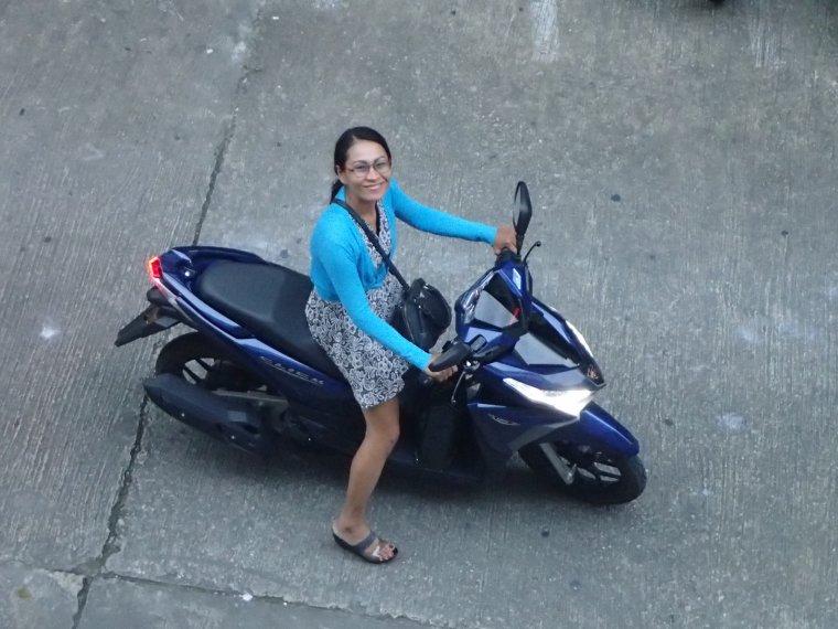 Vente de matos = Scooter à Phuket