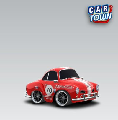 vw karmann ghia 1970 serty car town tuning. Black Bedroom Furniture Sets. Home Design Ideas