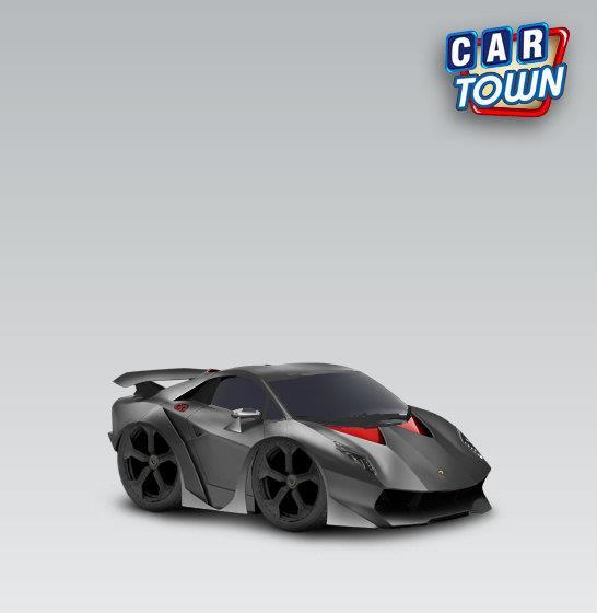 Lamborghini Sesto Elemento 2012 Serty Car Town Tuning