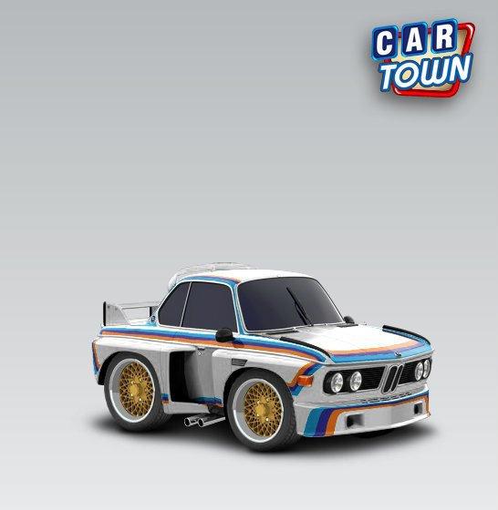 BMW CSL Serty Car Town Tuning - 1975 bmw 3 0 csl