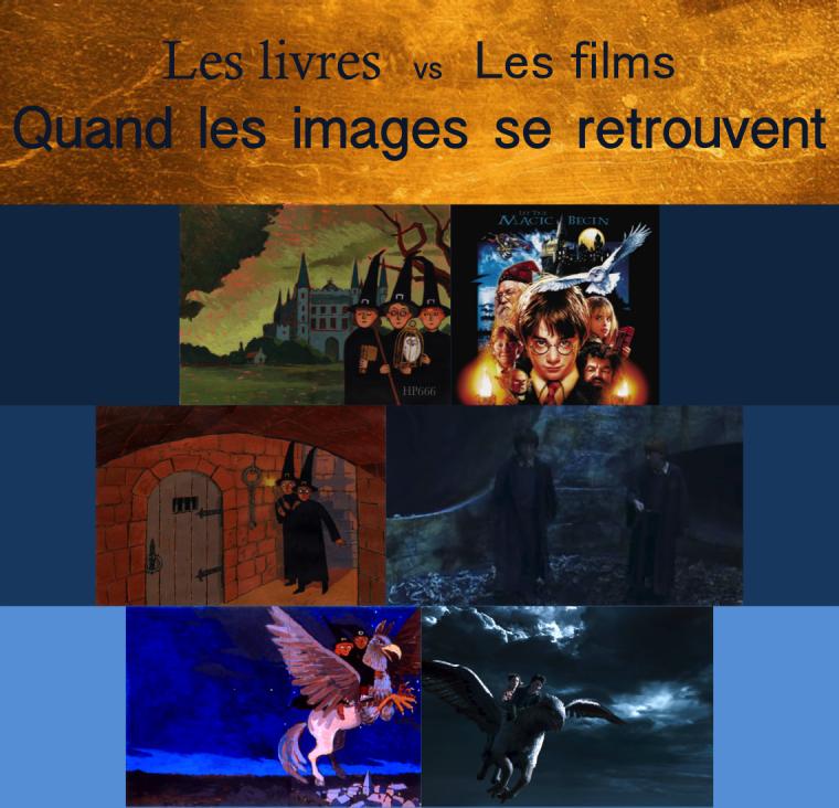 Les livres vs les films: quand les images se retrouvent