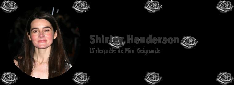 Shirley Henderson
