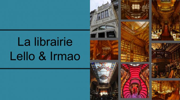 La librairie Lello & Irmao