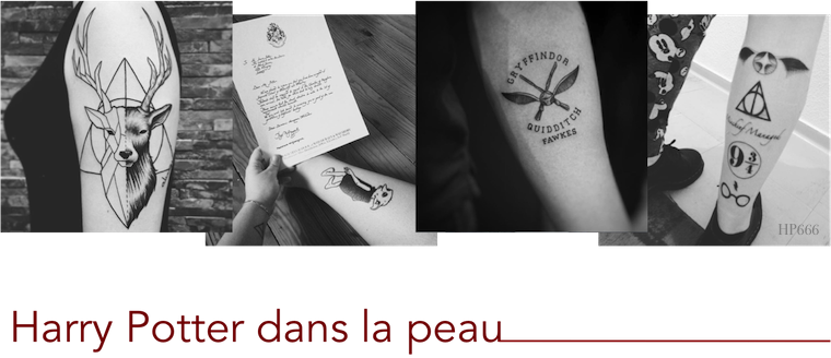 Tatouages Harry Potter