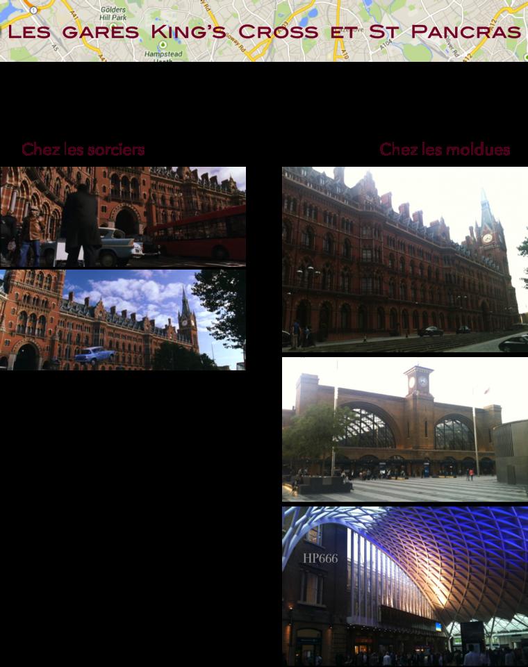 Londres pour les fans d'Harry Potter - Lieux de tournage Partie 1