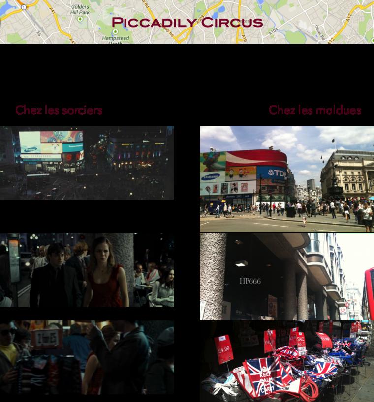 Voyage à Londres 2014: lieux de tournage des films Partie 2