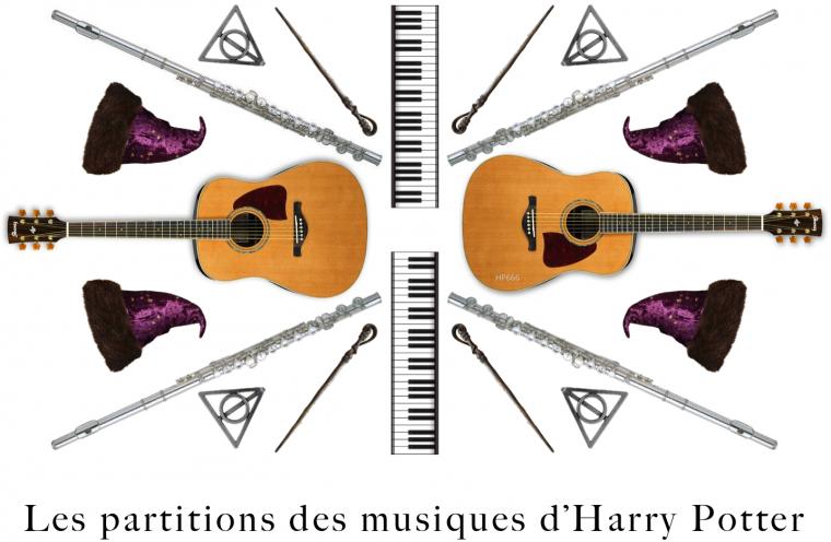 Les partitions des musiques d'Harry Potter