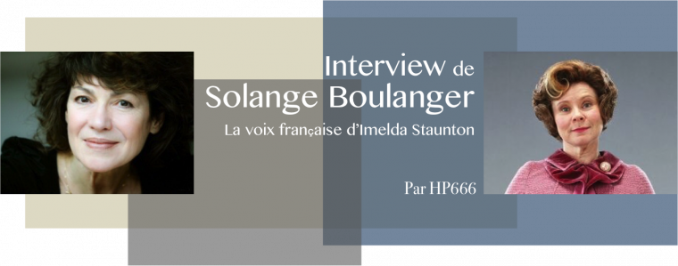 Interview de Solange Boulanger