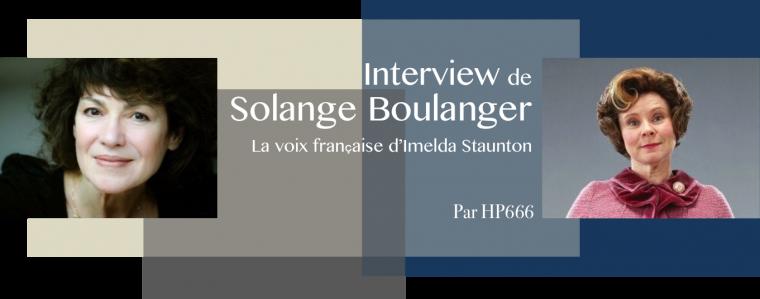 Interview de Solange Boulanger