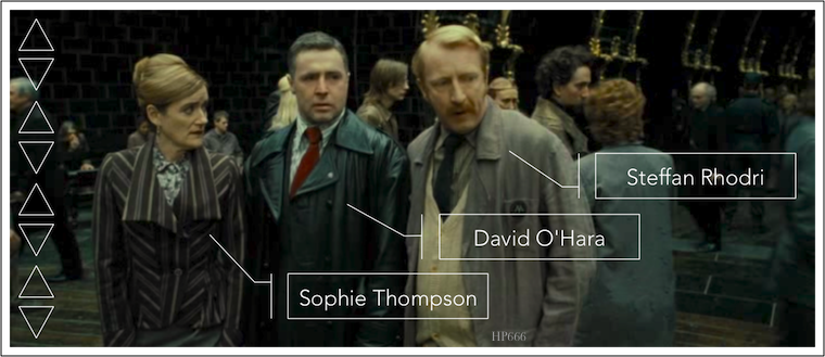 Sophie Thompson - David O'Hara - Steffan Rhodri