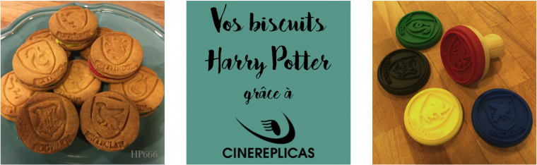 Vos biscuits Harry Potter grâce à Cinereplicas