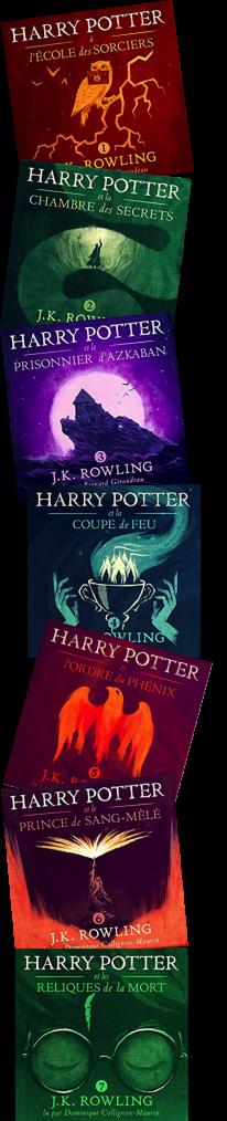 Les livres audio Harry Potter