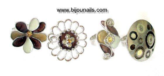Bagues réglables www.bijounails.com
