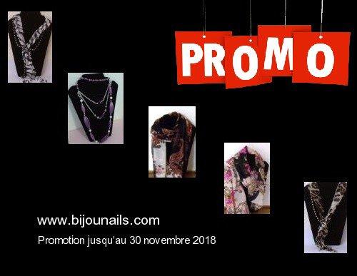 PROMO jusqu'au 30 novembre 2018 www.bijounails.com