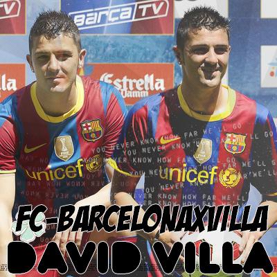 Bienvenue sur FC-BARCELONAxViLLA