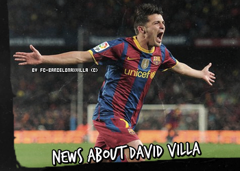 News About David Villa