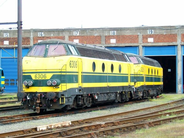 Locomotive Diesel série 63 SNCB