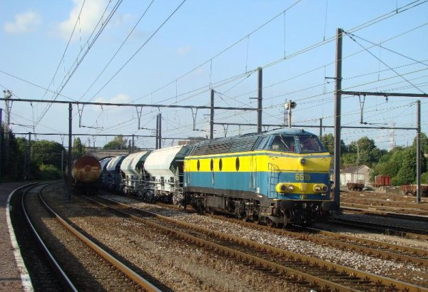 Locomotive Diesel série 55 SNCB