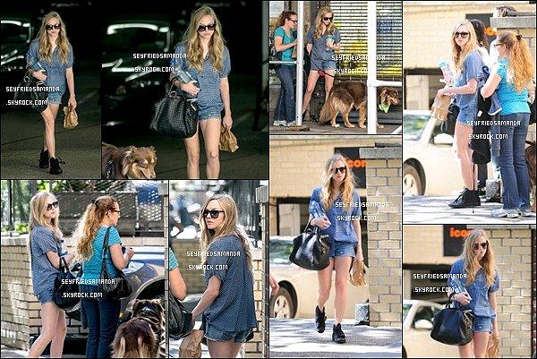 4 septembre 2013 : Amanda, Ann, la mère d'Amanda, Justin & Finn dans New York