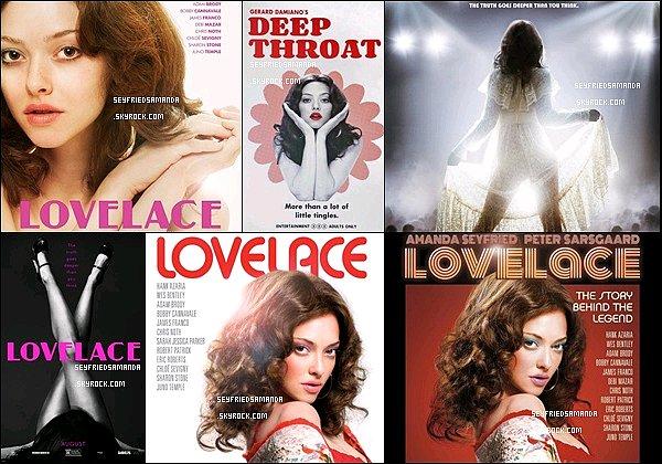 Découvrez des stills de Lovelace dans lequel Amanda incarne Linda L., elle est fantastique !