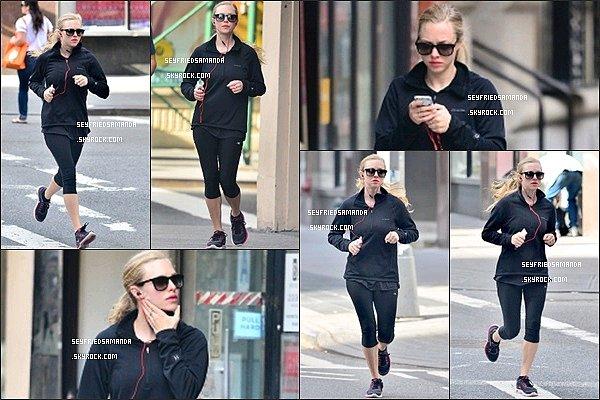 6 septembre 2013 : Amanda est allé courir tôt le matin dans  New York