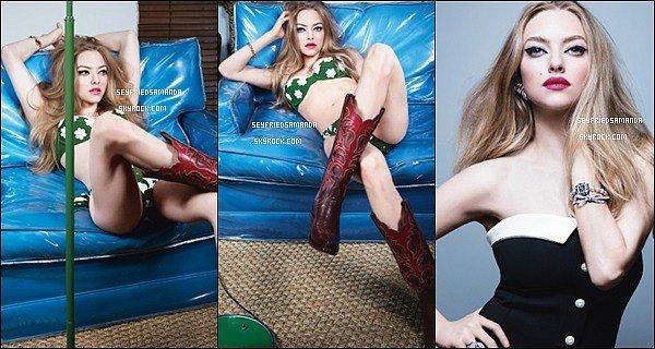 Découvrez le nouveau photoshoot d' Amanda réalisé par Craig McDean pour le magazine WAmanda est très belle sur ces photos, le shoot change de style, j'aime beaucoup les bottes qu'elle porte sur ces photos
