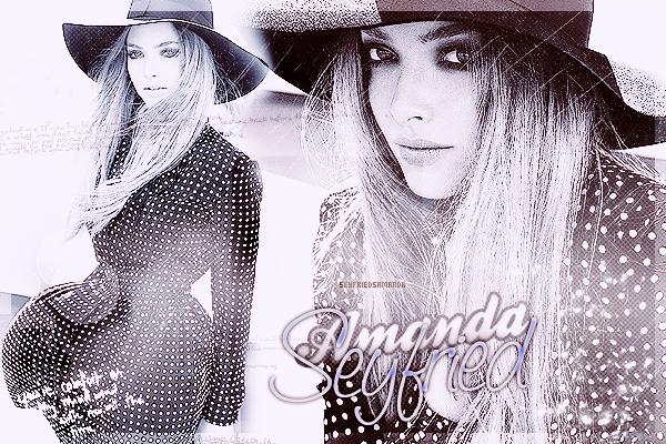 Bienvenue sur SeyfriedsAmanda, Ta source française sur la jolie Amanda Seyfried ♥